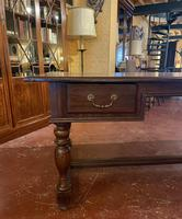 A Writing Desk With Turned Legs - Netherlands-19th Century (10 of 12)