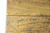 Antique Rustic Small Mahogany Drop Leaf Table (10 of 11)