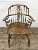 Pair of Antique Windsor Armchairs (3 of 9)
