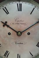 Antique English Twin Fusee Bracket Clock by Carter Cornhill London 8 Day Fusee Striking Mantel Clock (7 of 12)