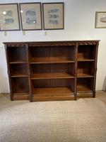 Oak Gothic Style Bookcase