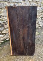 Antique Pine & Elm Hanging Corner Cupboard (11 of 11)