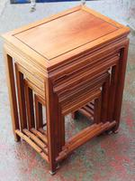 Mahogany Nest of 4 Tables 1940's (4 of 6)