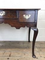 Antique Oak Lowboy Side Table (5 of 10)