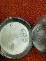 Antique Silver .800 Remontoir Cylindre 10 Rubis Case with Medusa Movement (4 of 6)
