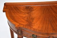 Antique Georgian Style Mahogany Console Table (8 of 8)
