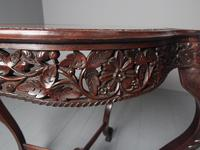Unusual Anglo-Indian Hardwood Occasional Table (8 of 11)