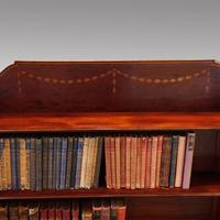 Edwardian Mahogany Open Bookcase (2 of 8)