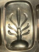Fine Large English Georgian Revival Silver Plate Acanthus Repousse Meat Salver (12 of 12)