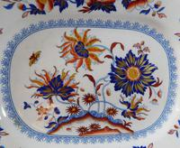 "19th Century, ""Pekin Stone China"" Ironstone Plate (3 of 5)"