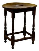 Queen Anne Oval Oak & Beechwood Tavern Table