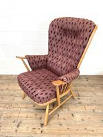 Vintage Ercol Evergreen Two Seater Sofa & Armchair (6 of 10)