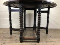 Early 18th Century Yew & Fruitwood Gateleg Table (6 of 12)