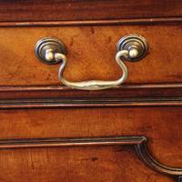 George VI Mahogany Library Bookcase (11 of 13)