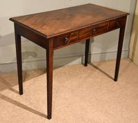 George III Mahogany Side / Dressing Table (8 of 9)