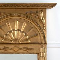 Large Swedish 19th Century Empire Style Mirror (2 of 4)