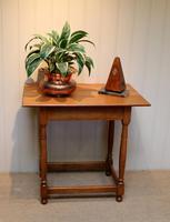 Light Oak Side Table (5 of 8)