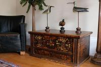 19th Century Austrian Folk Art Painted Pine Coffer (9 of 23)