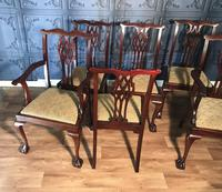 Set of six Edwardian Mahogany Dining Chairs (5 of 11)
