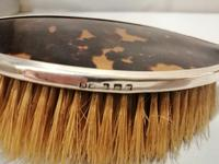 Four Piece Silver & Tortoiseshell Brush Set 1936 (5 of 13)