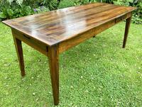 French Farmhouse Table in Walnut (3 of 7)