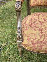Pair of French Armchairs in Original Paint Finish (7 of 10)