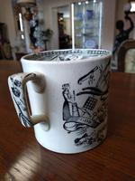 'God Speed The Plough' Victorian Two Handled Love Cup (3 of 6)