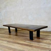 Large Scale 19th Century Hardwood Coffee - Low Table (2 of 12)