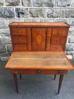 Antique Inlaid Satinwood Ladies Writing Desk (9 of 15)