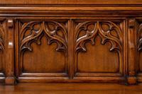 Pair of Victorian Carved Oak Pews (5 of 11)