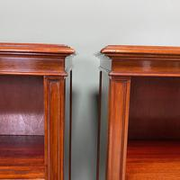 Pair of Edwardian Mahogany Antique Bookcases by John Taylor (4 of 6)
