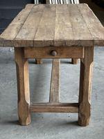 Normandy Oak Farmhouse Table & Bench Set (5 of 19)