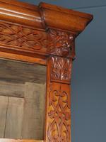Antique Victorian Golden Oak Open Bookcase (8 of 20)