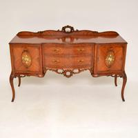 Antique French Inlaid Kingwood Sideboard (2 of 16)