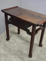 Chinoiserie Mahogany Side Table by Whytock and Reid (3 of 13)