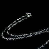 Antique Moonstone Sterling Silver Drop Fringe Necklace (7 of 8)