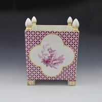 Large Victorian Minton Sevres Style Square Jardiniere (3 of 15)