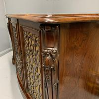 Gillows Serpentine Rosewood Sideboard (8 of 10)