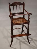 Attractive Late 19th Century Child's High Chair (5 of 5)