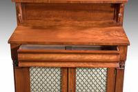 Small Regency Period Mahogany Chiffonier (3 of 8)