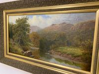 Antique Oil on Canvas of a Countryside Scene (7 of 9)