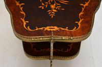 Vintage Italian Brass & Marquetry Drinks Trolley (7 of 14)