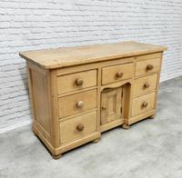 Antique Golden Pine Dresser Base (4 of 6)