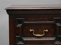 Mid 18th Century oak moulded front chest of drawers (6 of 10)