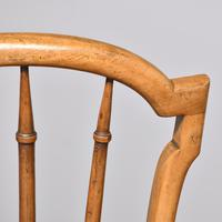 Pair of Victorian Walnut & Ebonized Side Chairs (4 of 9)
