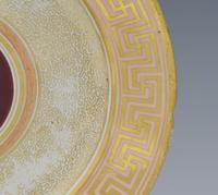 Early Coalport Neo Classical Dessert Plate Greek Key Border c.1805-1810 (6 of 8)