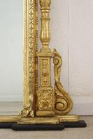 Victorian Gilt Large Overmantle Mirror (7 of 10)