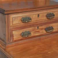 Antique 'John Taylor of Edinburgh' Satinwood Dressing Table (2 of 12)