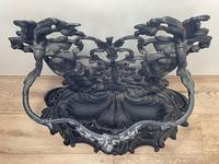 Art Nouveau Style Black Heavy Cast Iron French Nubile Umbrella Stand Corneau Alfred A Charlesville No 27 (6 of 41)