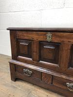 Antique Welsh Oak Coffer Bach (12 of 15)